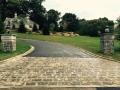 stone paving apron